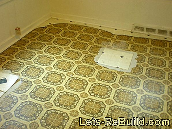 Genuine linoleum is more expensive than plastic products