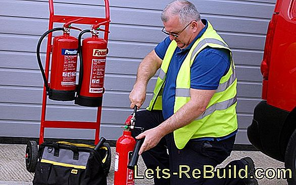 Maintenance for the fire extinguisher - these costs are incurred