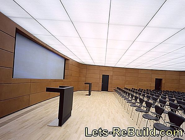 Stretch Ceilings » For Better Acoustics & More Peace