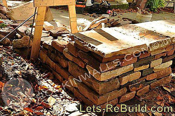 Stone Wall Make Yourself » Step By Step Instructions