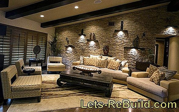 Stone Wall In The Living Room » Everything Important At A Glance