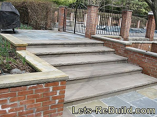 The prices for granite steps vary