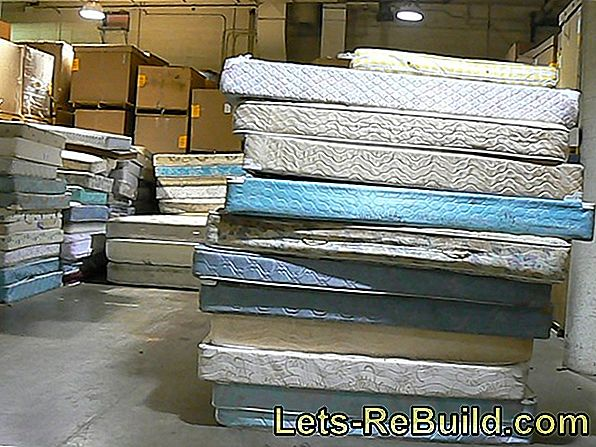 Dispose mattress: options and their costs