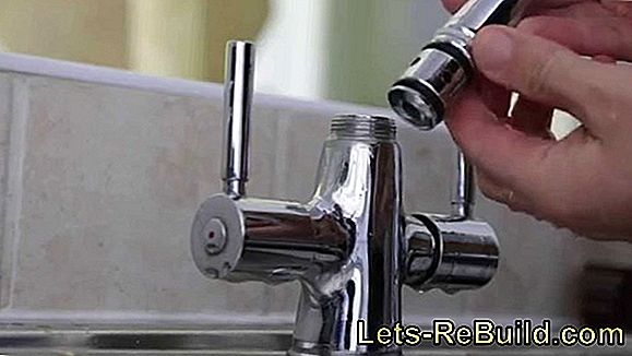 Change the mixer tap in the shower - this is how you should proceed