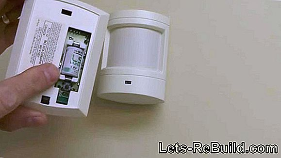 Replace the motion detector