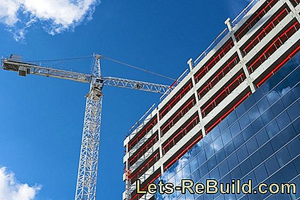 What is the construction cost of an apartment building?