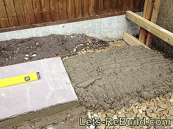 Laying Natural Stone Slabs In The Grit Bed » That'S How It Works