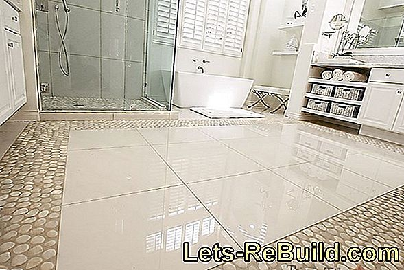 Tiles in stone look: high quality and durable wall or floor covering