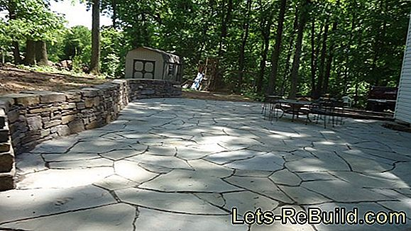 Lay Terrace Tiles On Concrete » In 3 Steps