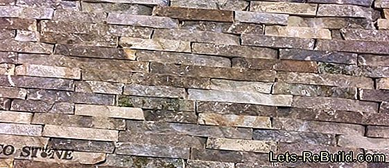 Natural stone veneer cut without breakage