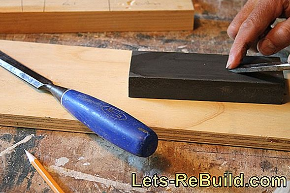 Sharpening chisel once or twice a year