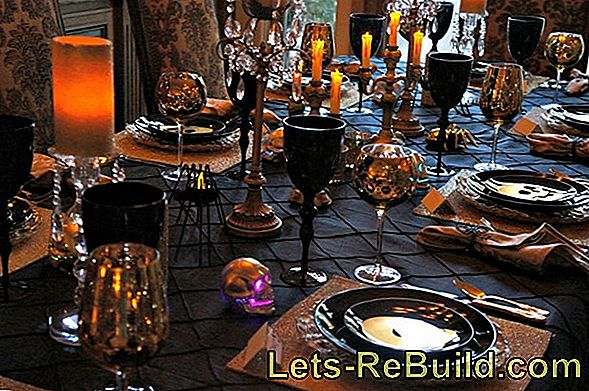 Halloween: New ideas and decoration for the Halloween Party