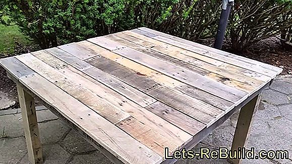 Build simple pallet furniture