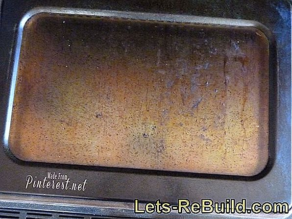 Clean burned oven - easier and cheaper