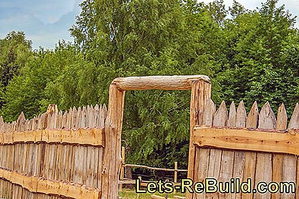 Set Wooden Palisades » Instructions In 3 Steps