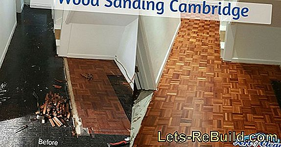 How a parquet floor can be repaired