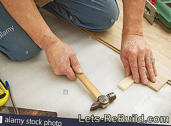 Laying The Parquet - Instructions In 5 Steps