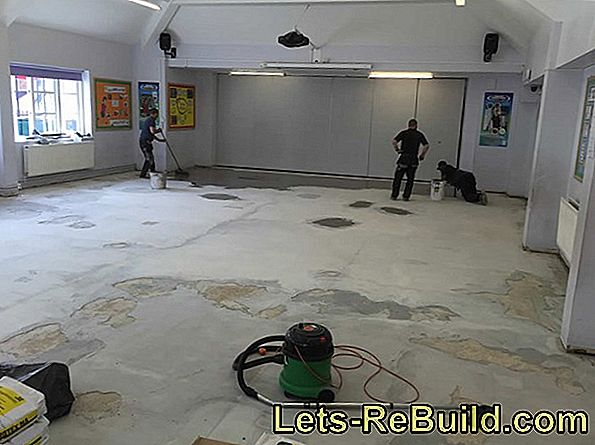 Sand a parquet floor and seal