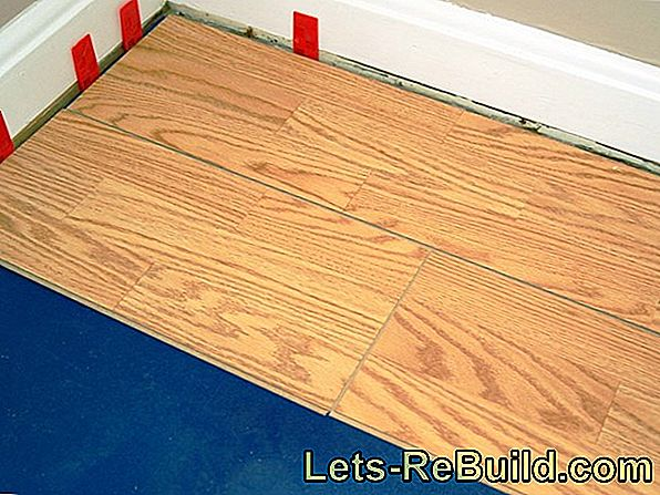So you can lay parquet yourself