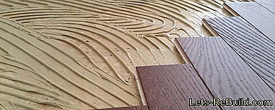 How to lay a parquet floor