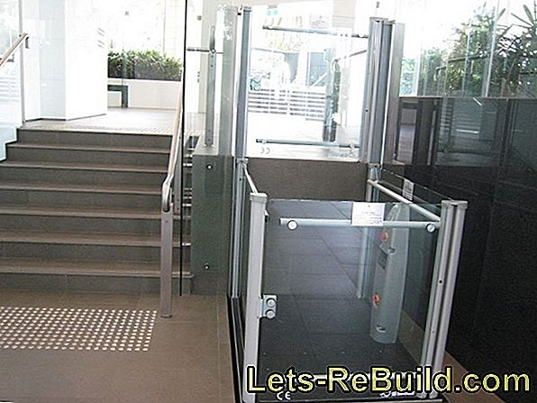 Elevator - handicapped accessible and barrier-free