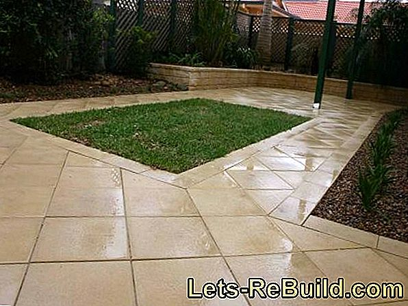 Paving stones for the garden