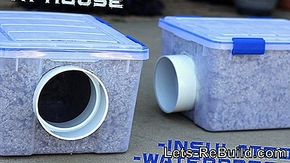 Build A Cat House Yourself