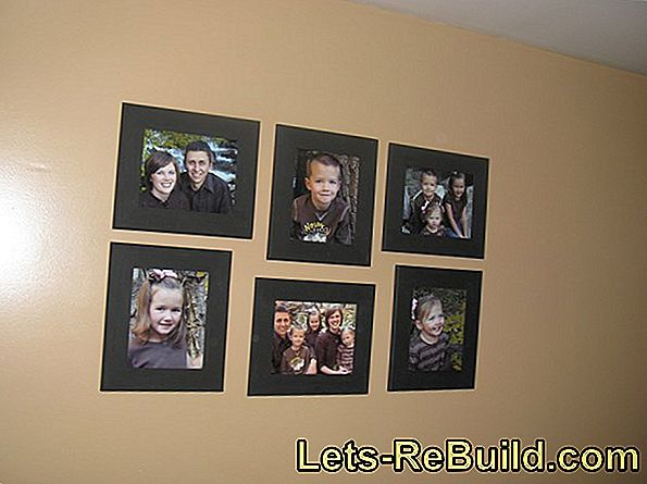 Arrange picture frames