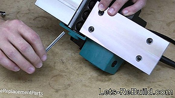 Change Planer Knives » How To Do It Right