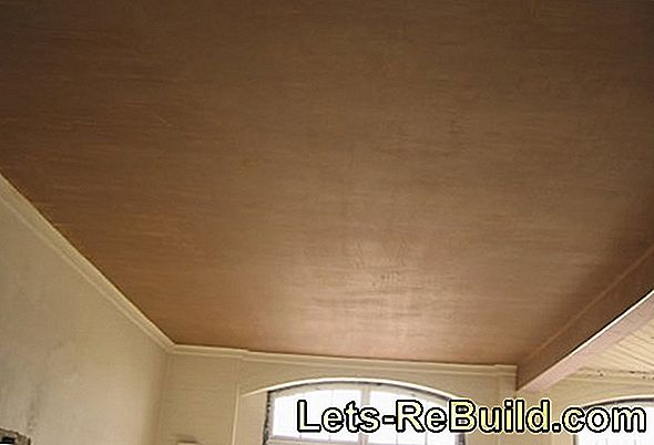 Plastering The Ceiling - Instructions In 6 Steps