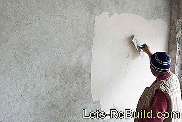 Paint plaster with the right means and beautify