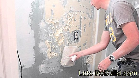 Apply Sprayed Plaster » How To Do It Right