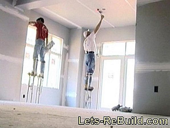 Plasterboard » Which Distance Is To Be Kept?