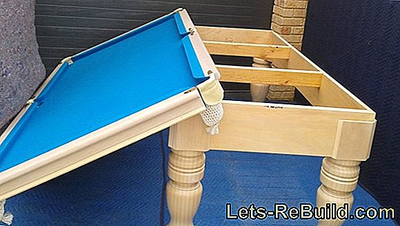 Disassemble The Billiard Table » Instructions In 6 Steps
