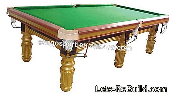 A rickety and uneven billiard table can be repaired
