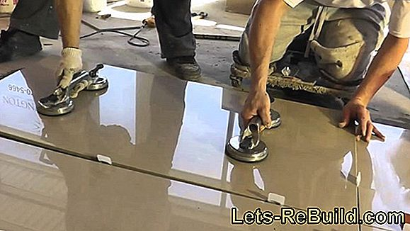 Laying Porcelain Stoneware Tiles » That'S How It'S Done