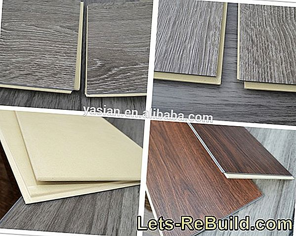 PVC on laminate hides wear and tear inexpensively