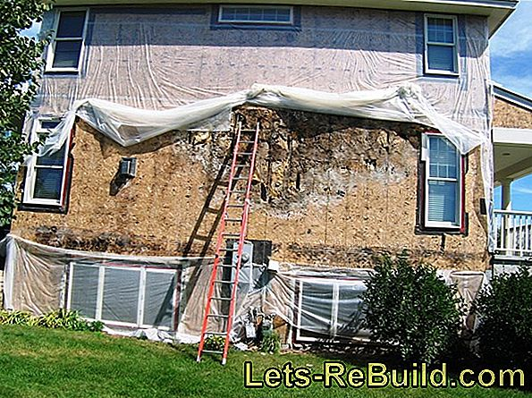 Plaster Dry Stone Exterior » Detailed Instructions