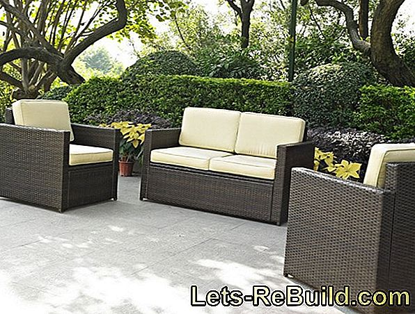 Rattan furniture restore - you must pay attention