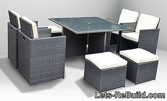 Rattan furniture: Which care is necessary?