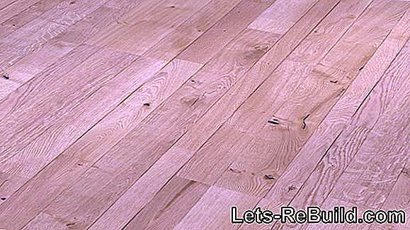 Tips for oiled oak parquet