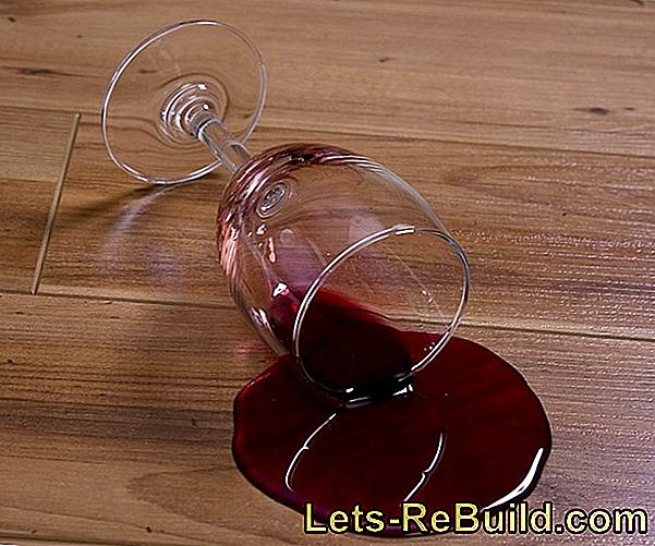 Remove Red Wine Stains On Wood » This Is How It Works