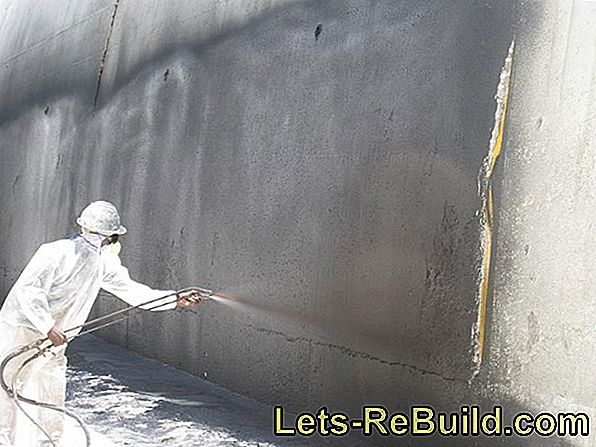 Seal Exterior Plaster » How To Protect The Facade