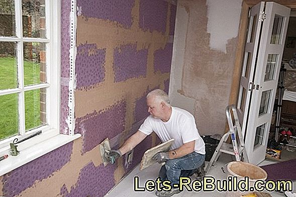 Apply reinforcing plaster