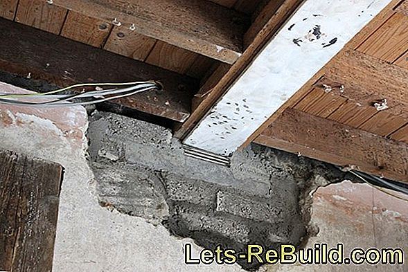 Install Reinforcement Plaster On The Outside » How To Insert It