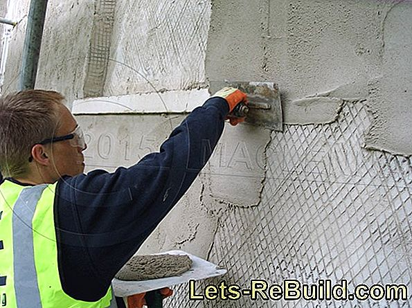 Reinforcement Mortar As Plaster » How To Use It