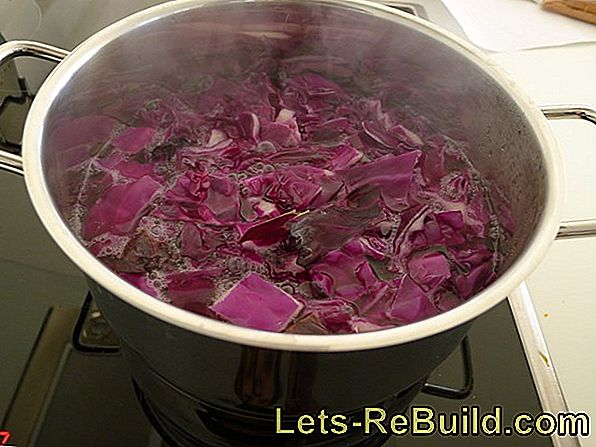 Remove Red Cabbage Stains » Instructions In 4 Steps