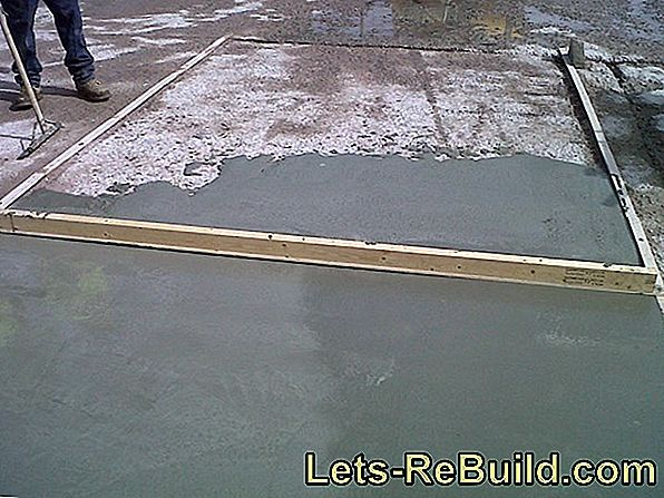 Resin floor can also be used without problems on the outside