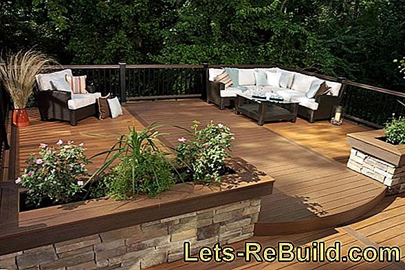 Terrace Flooring Made Of Synthetic Resin » Features And Ideas
