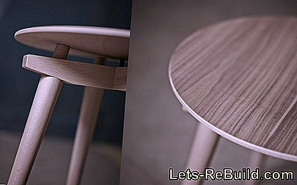 Rocking chair visually and technically restored